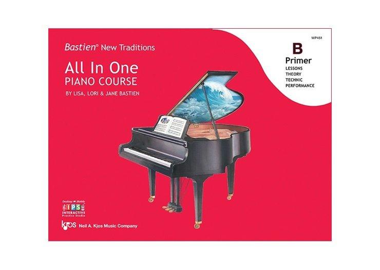 Bastien New Traditions: All In One Piano Course Primer B