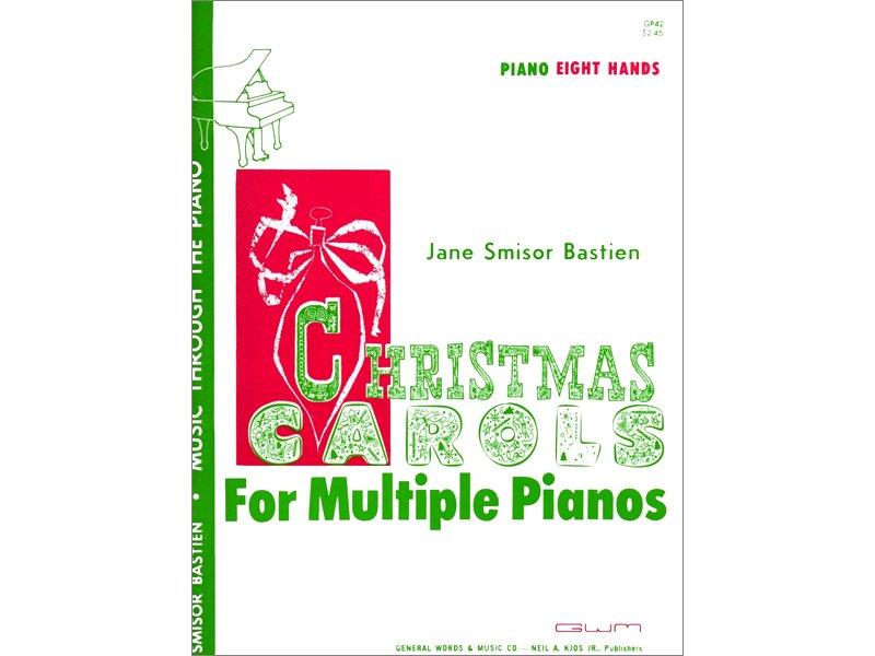 Bastien Christmas Carols for Multiple Pianos