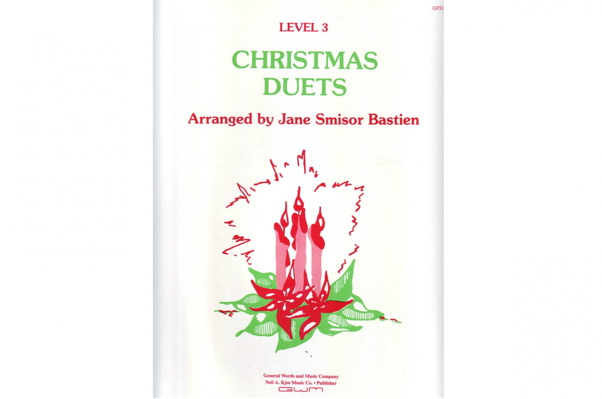 Christmas Duets.Bastien Christmas Duets For Piano Level 3 999999001575