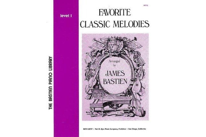Bastien Piano Library Favorite Classic Melodies Level 1