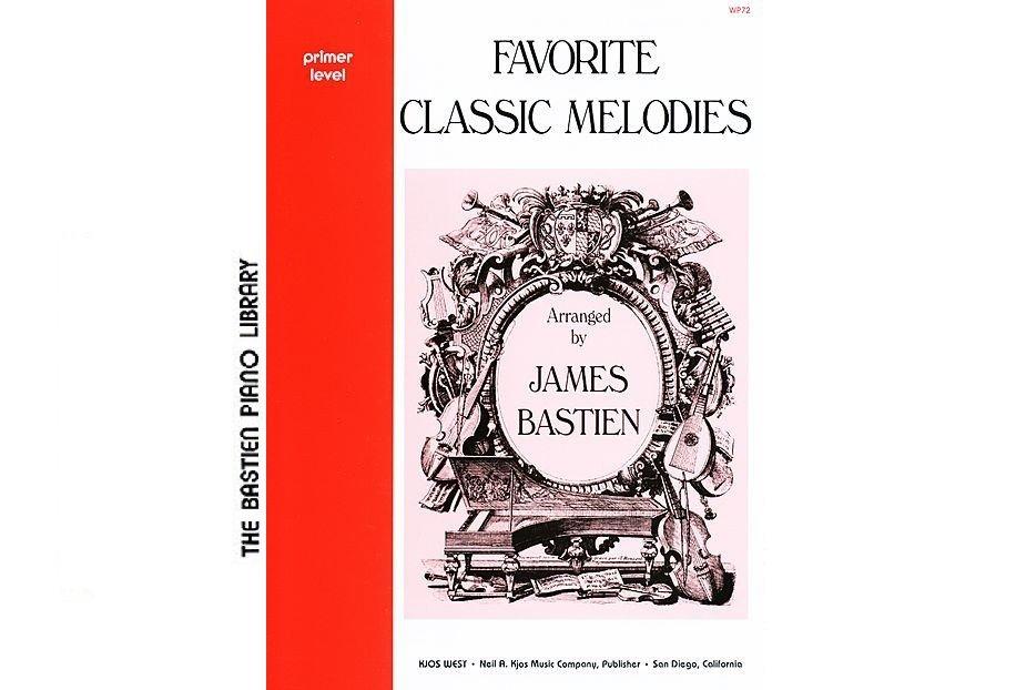 Bastien Piano Library Favorite Classic Melodies Primer
