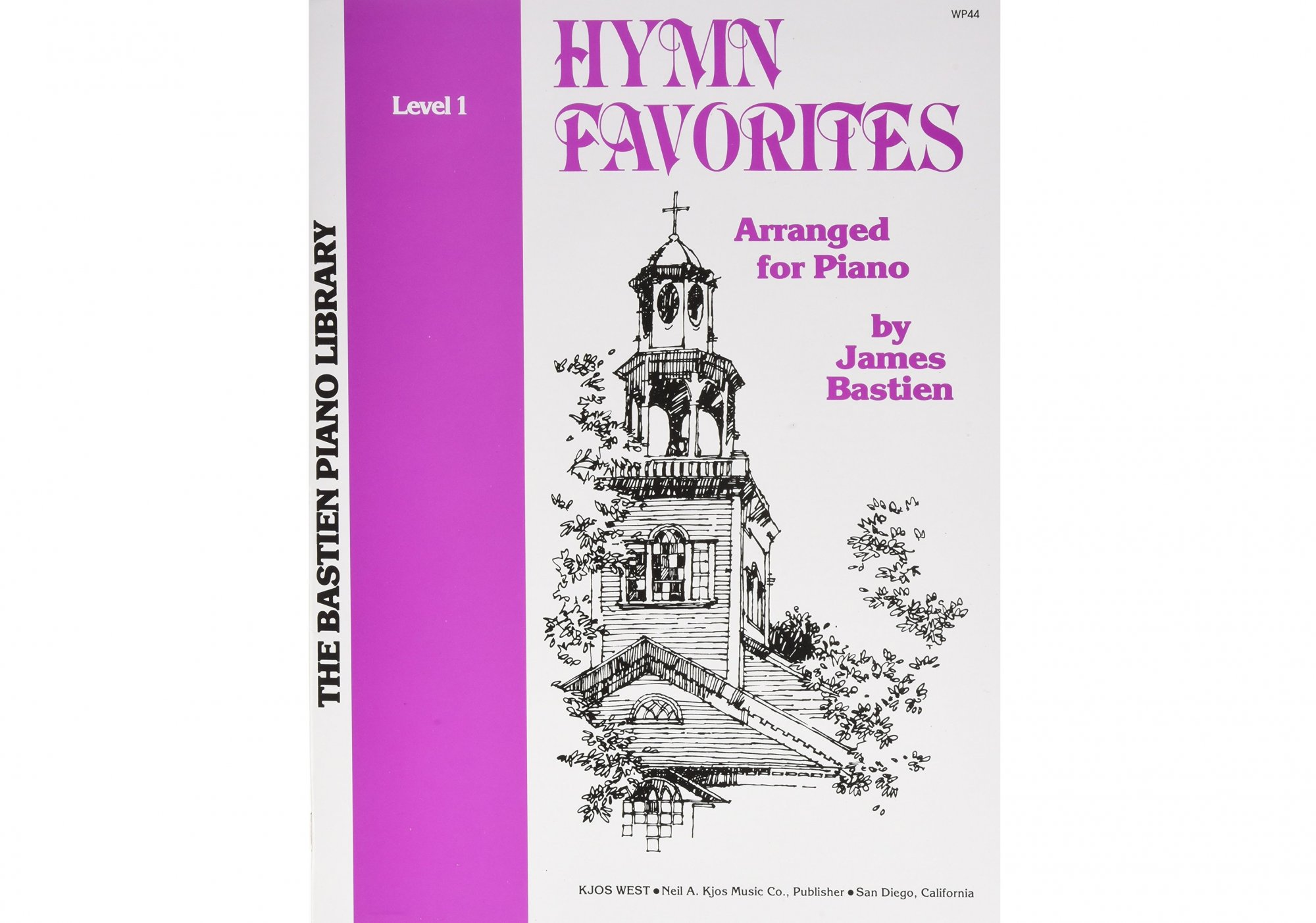 Bastien Piano Library Hymn Favorites Level 1