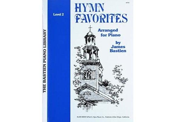 Bastien Piano Library Hymn Favorites Level 2