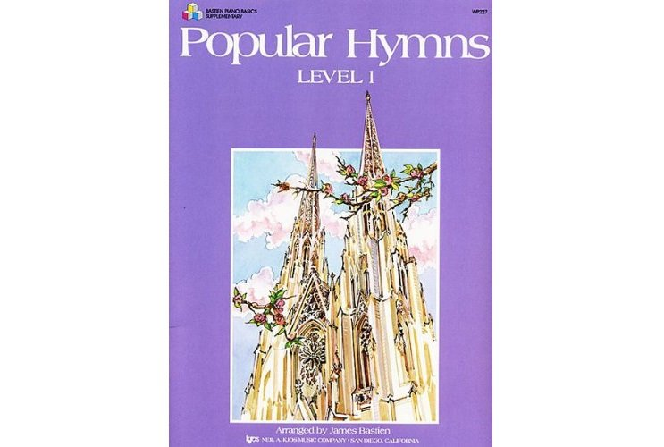 Bastien Piano Basics Level 1, Popular Hymns