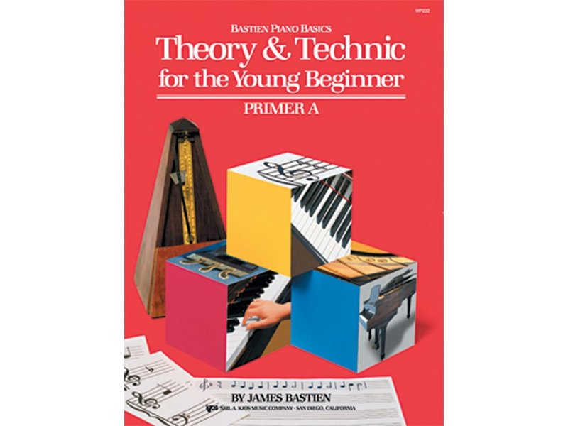 Bastien Piano Basics for the Young Beginner Primer A Theory & Technic