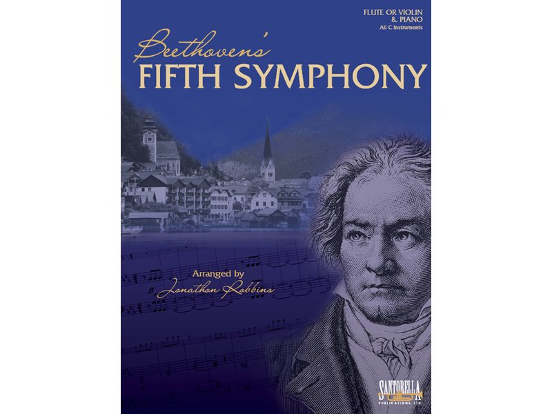 Beethoven's Fifth Symphony for Flute (or Violin) and Piano