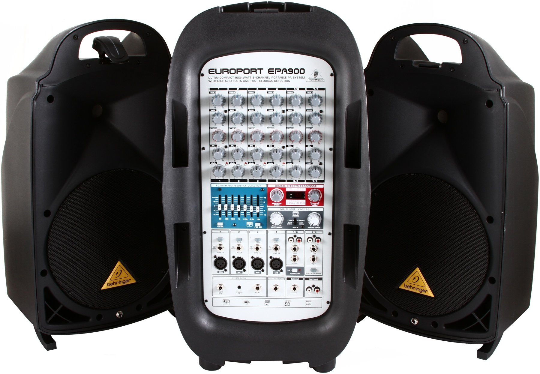 Behringer Europort EPA900, 900W Portable PA System