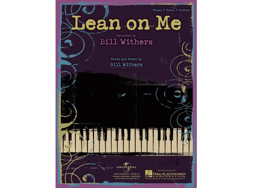 Bill Withers Lean on Me Piano/Vocal/Guitar