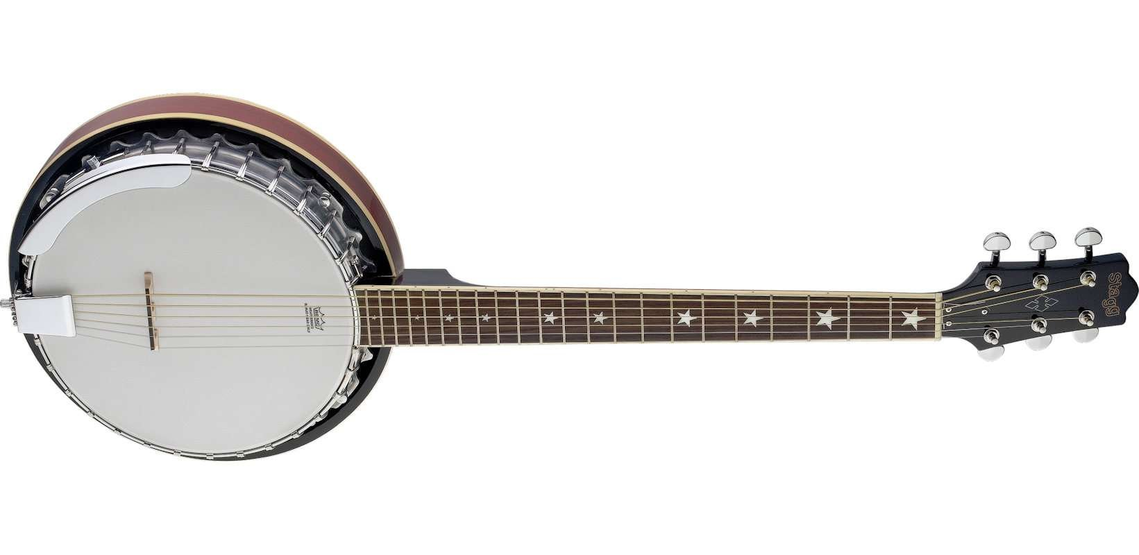 Stagg BJM30 6 String Banjo
