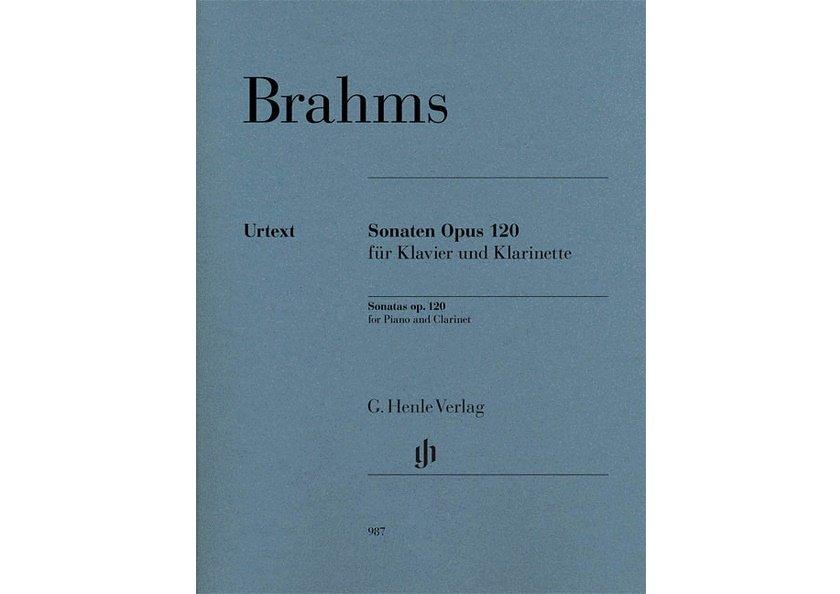 Brahms Sonatas for Clarinet Op 120