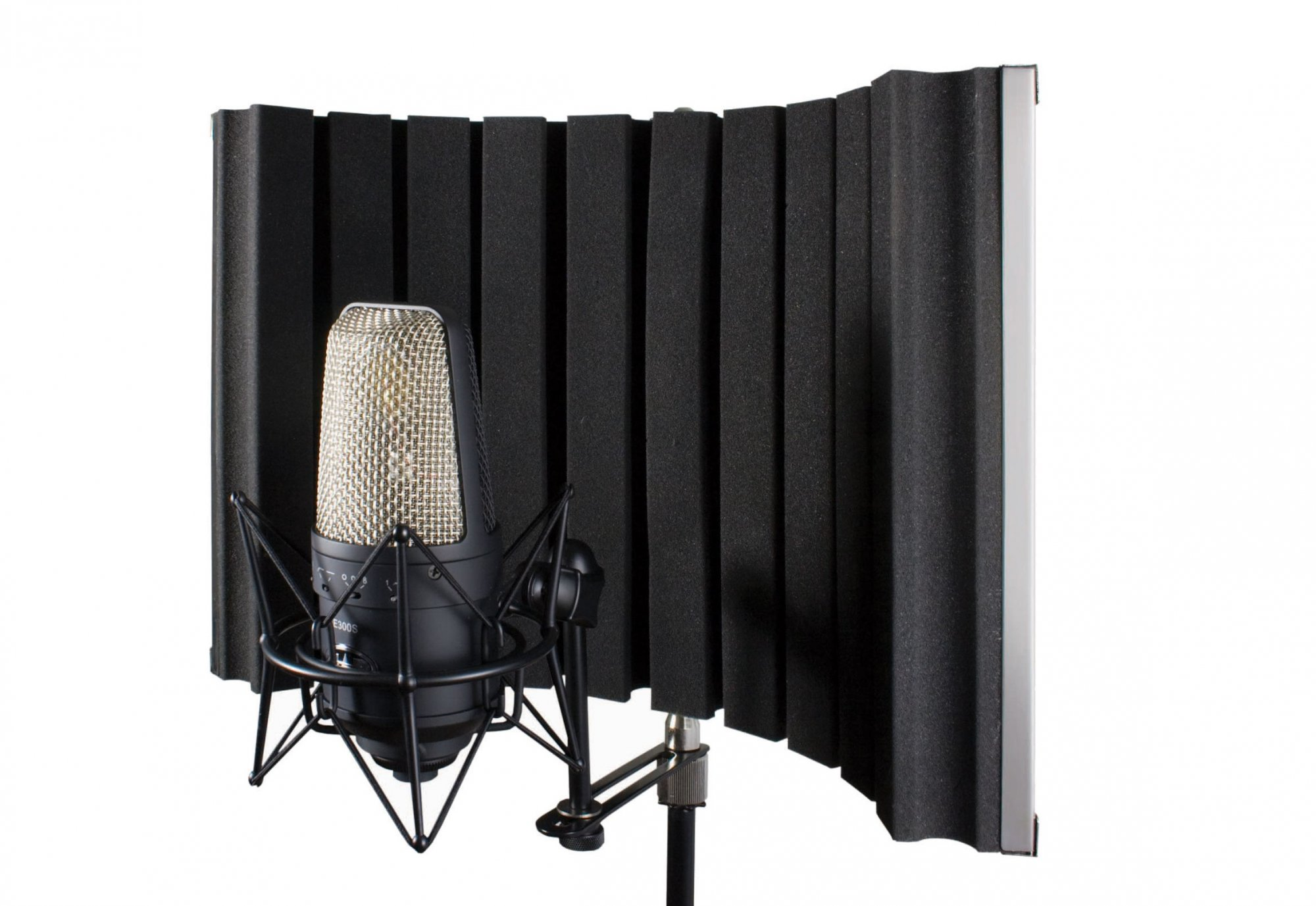 CAD AS22 Acoustic Mic Shield with Mic Bracket