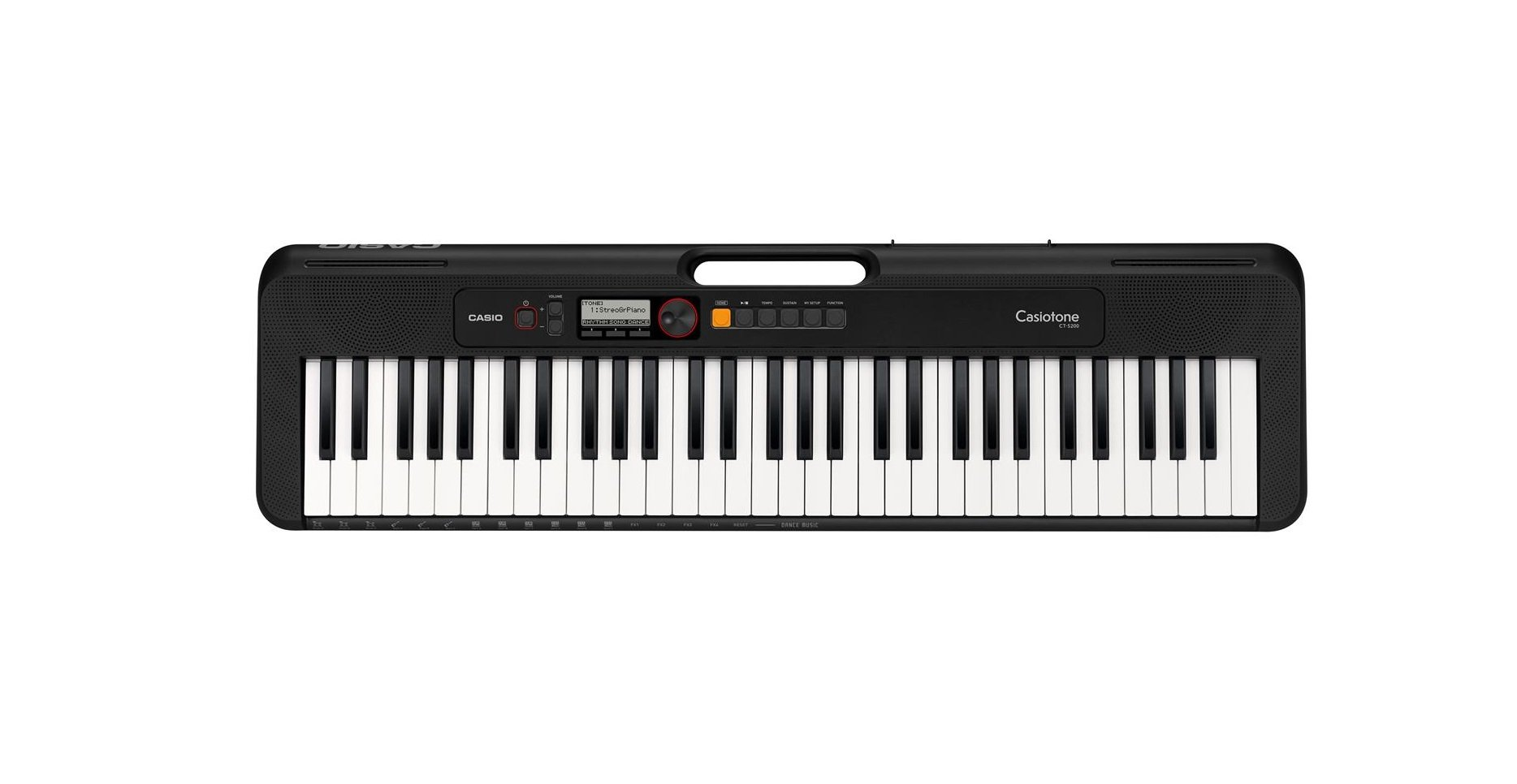Casio CT-S200 Portable keyboard, Black