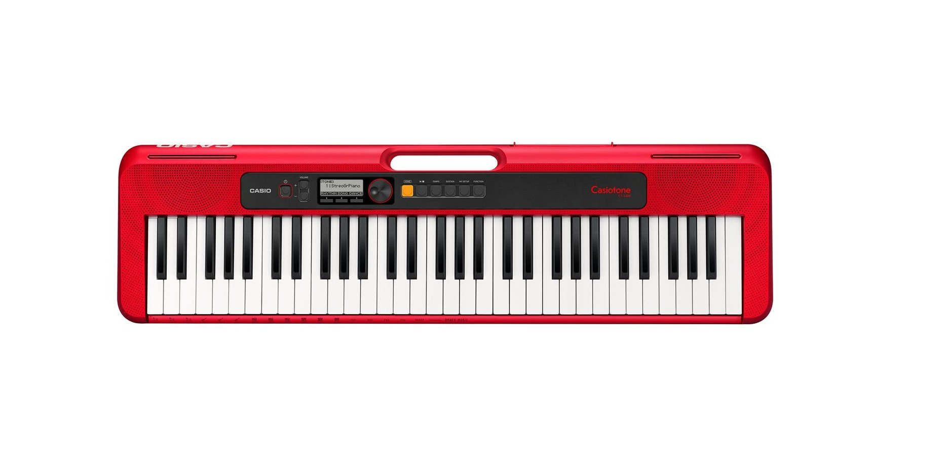 Casio CT-S200 Portable keyboard, Red
