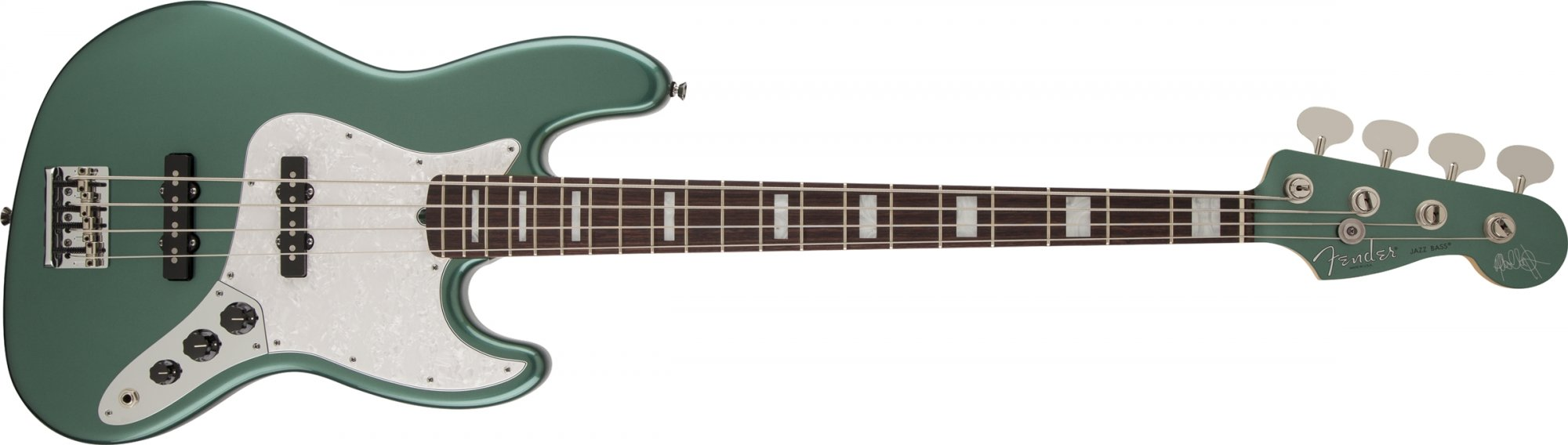 Fender Adam Clayton Jazz Bass, Sherwood Green