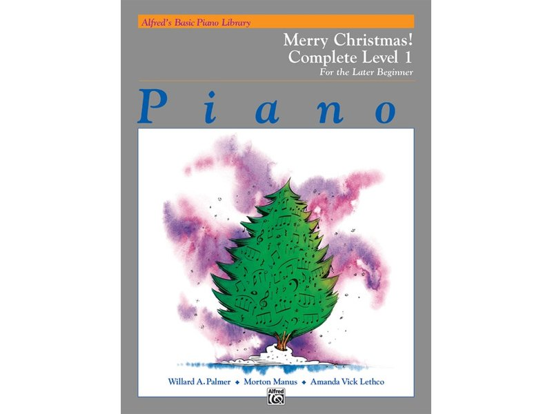 Alfred's Basic Piano Library Complete Level 1 Merry Christmas!