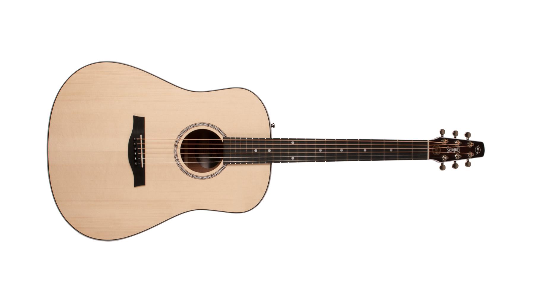 Seagull Maritime SWS Acoustic Electric Guitar, Natural Semi Gloss