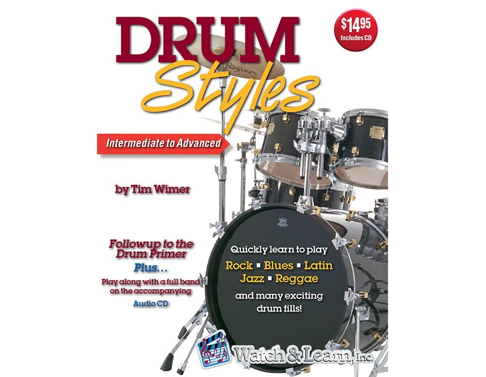 Watch & Learn Drum Styles