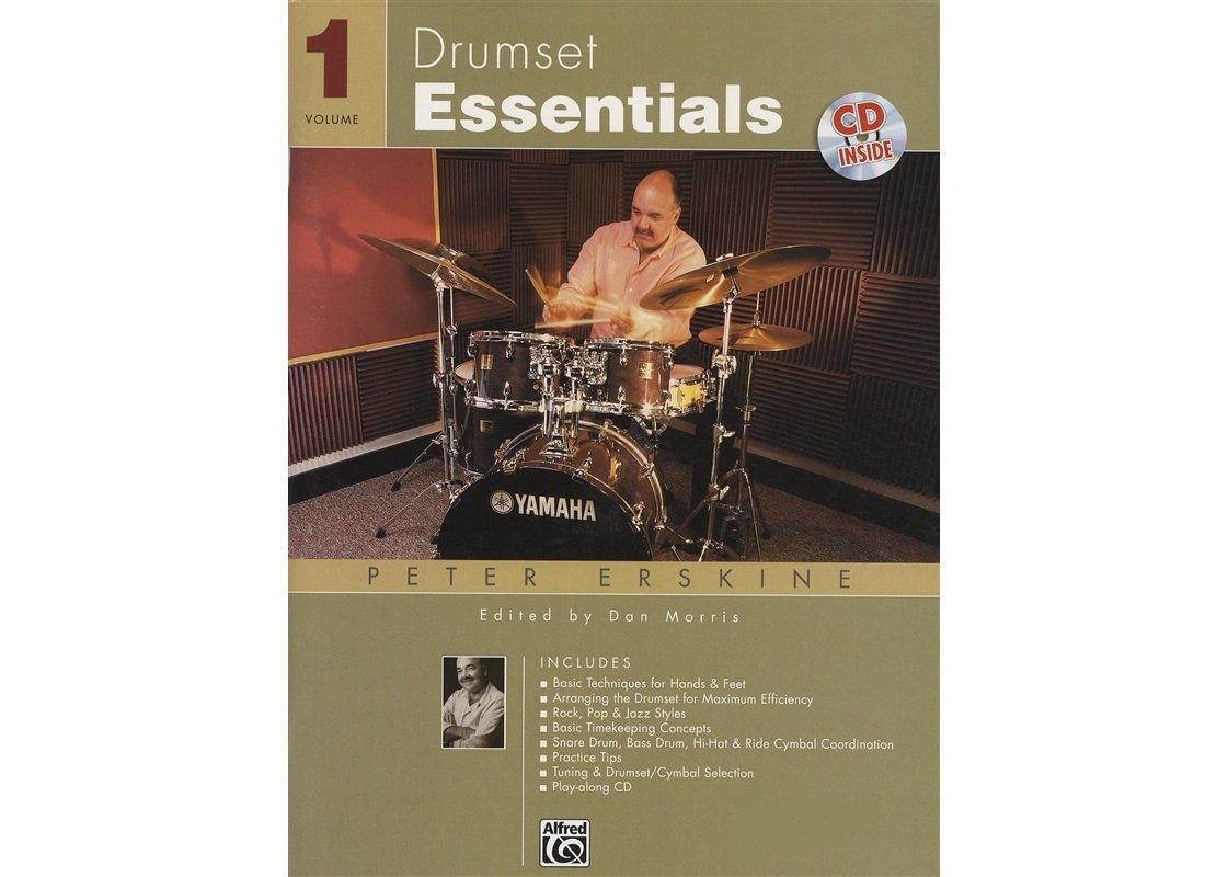 Drumset Essentials Book 1 by Erskine W/CD