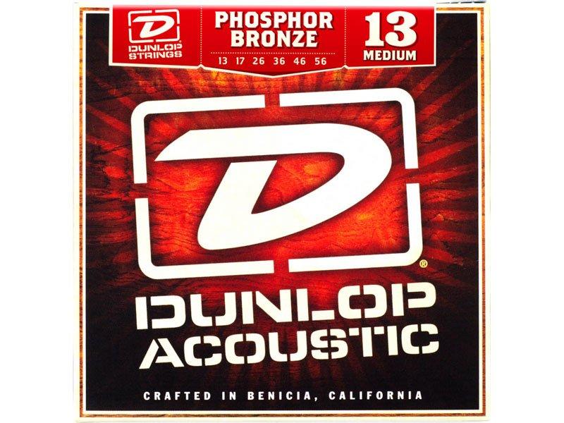 Dunlop Phosphor Bronze Acoustic Guitar Strings, Medium