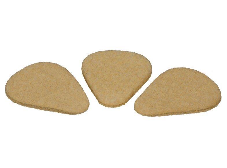 Dunlop Standard Felt Picks, 3-Pack