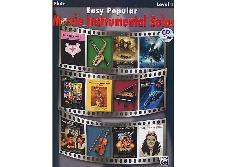 Easy Popular Movie Instrumental Solos Level 1 Flute