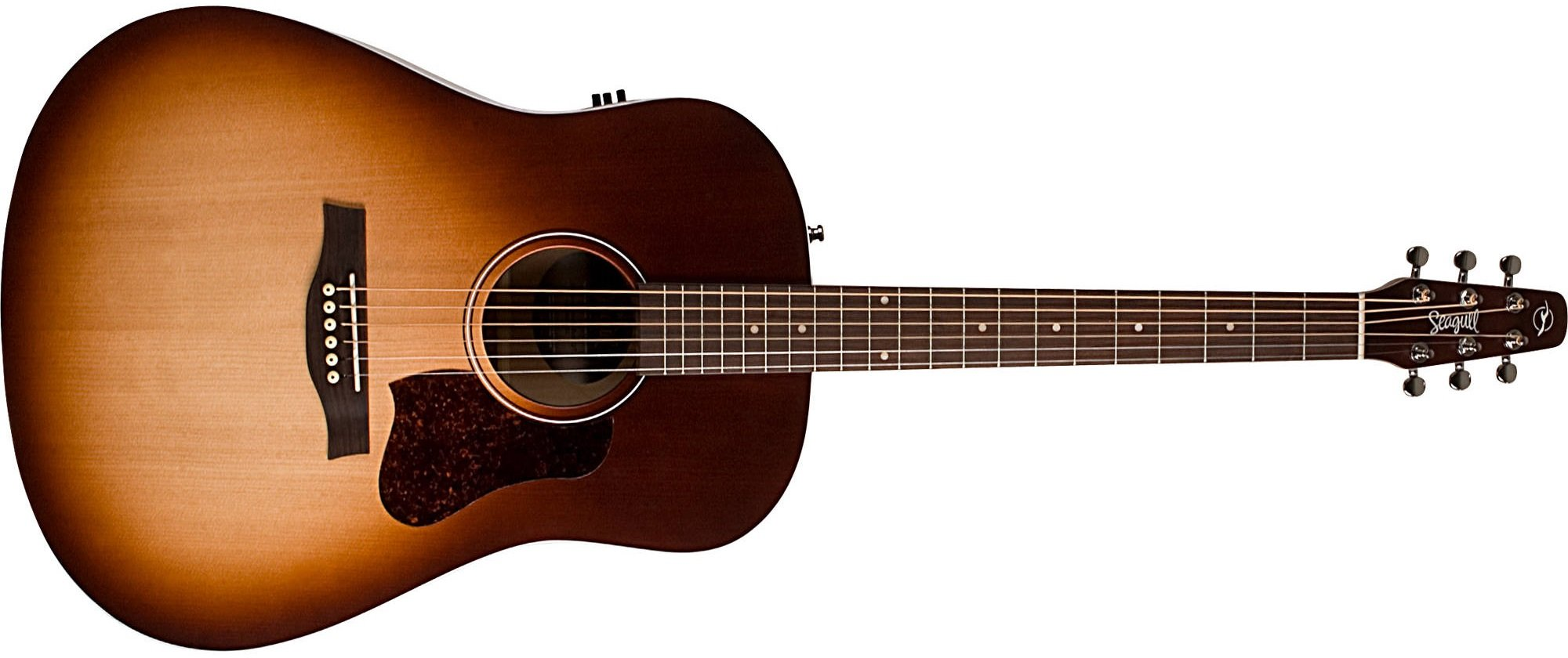 Seagull Entourage QI Acoustic Electric Guitar, Autumn Burst