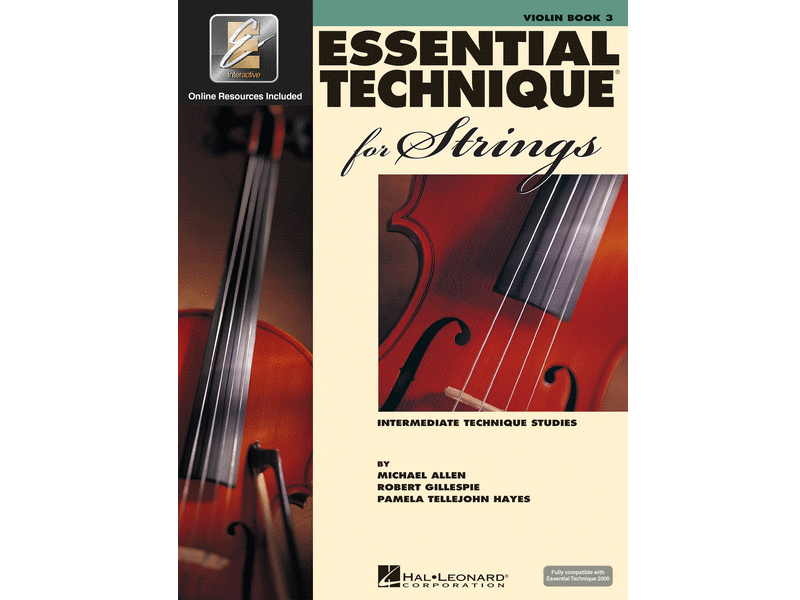 Essential Technique for Strings Book 3