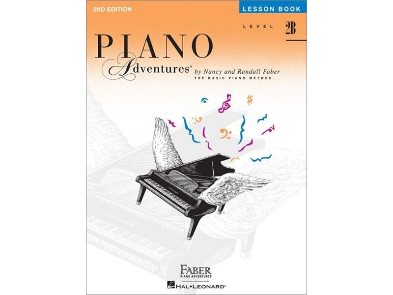 Faber Piano Adventures Level 2B Lesson
