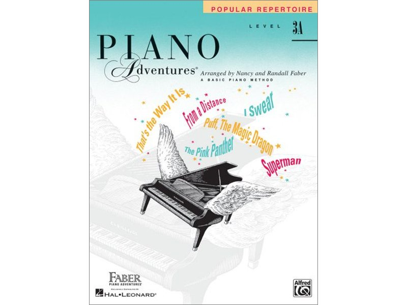 Faber Piano Adventures Level 3A Popular Repertoire
