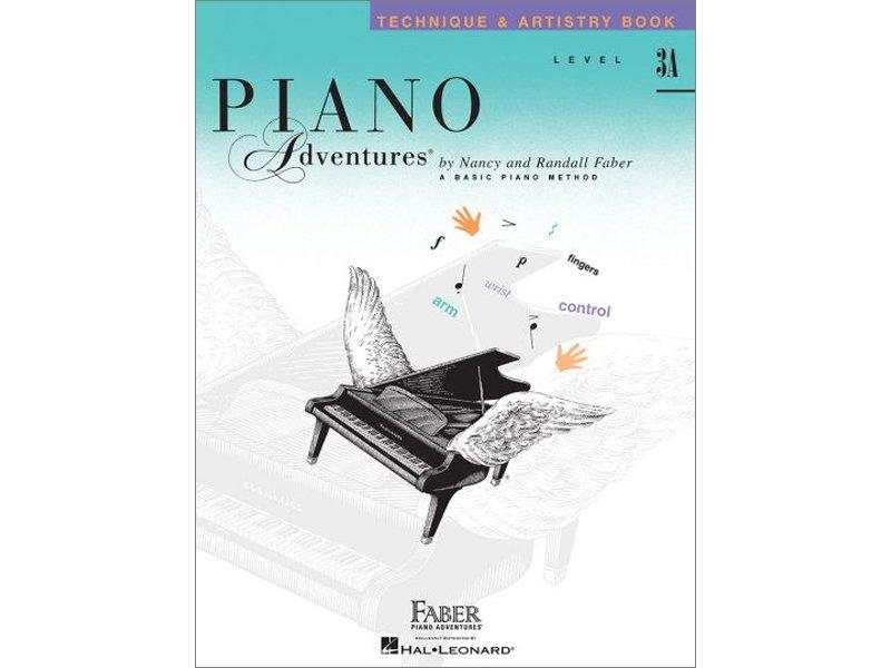 Faber Piano Adventures Level 3A Technique & Artistry
