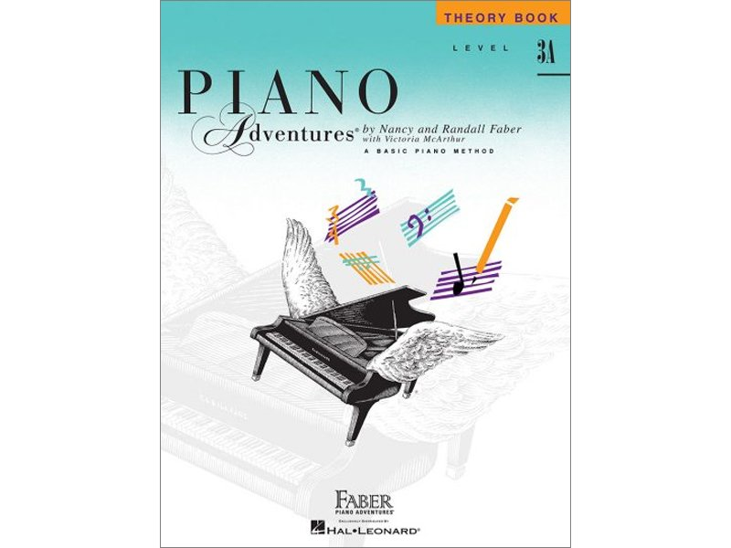 Faber Piano Adventures Level 3A Theory