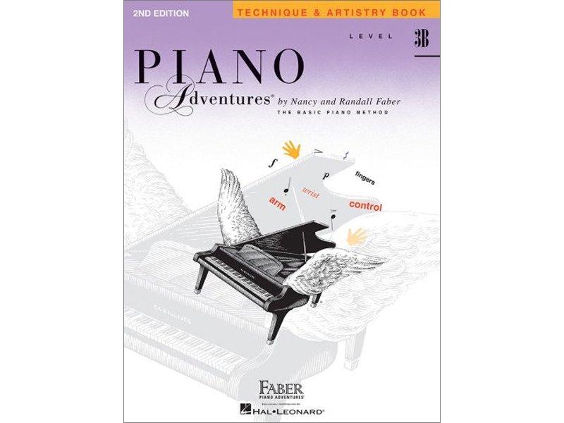 Faber Piano Adventures Level 3B Technique & Artistry