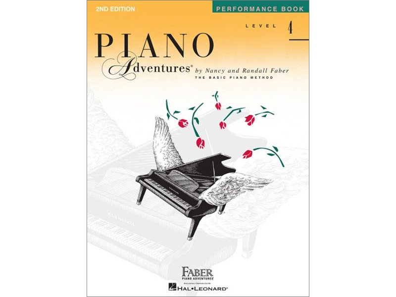 Faber Piano Adventures Level 4 Performance