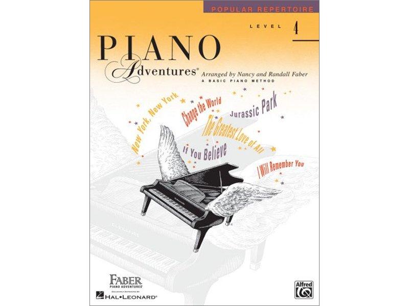 Faber Piano Adventures Level 4 Popular Repertoire