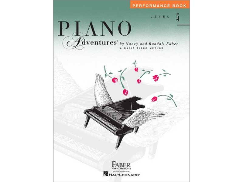 Faber Piano Adventures Level 5 Performance