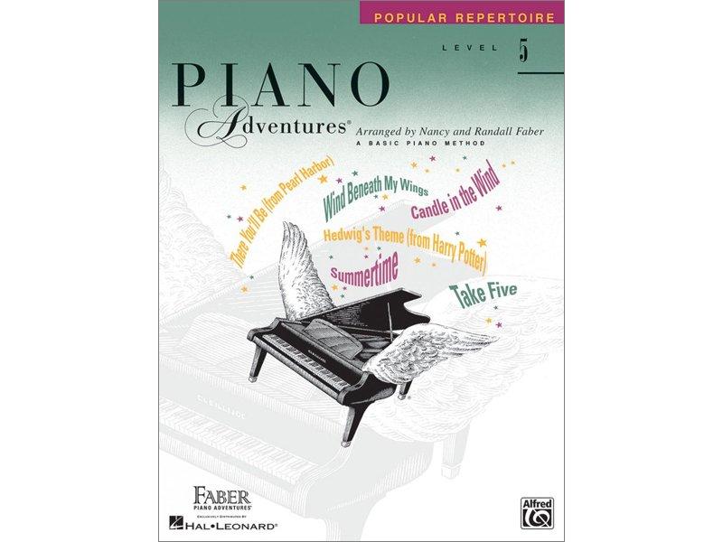 Faber Piano Adventures Level 5 Popular Repertoire