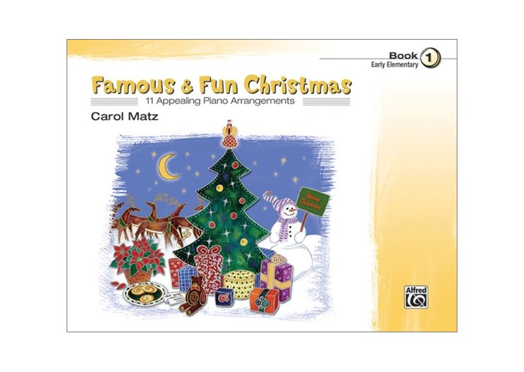 Famous & Fun Christmas Book 1