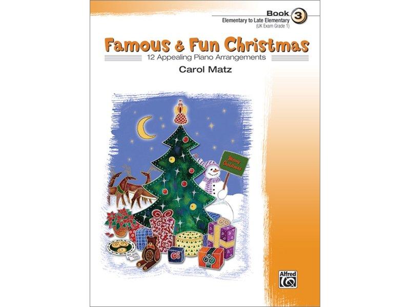 Famous & Fun Christmas Book 3