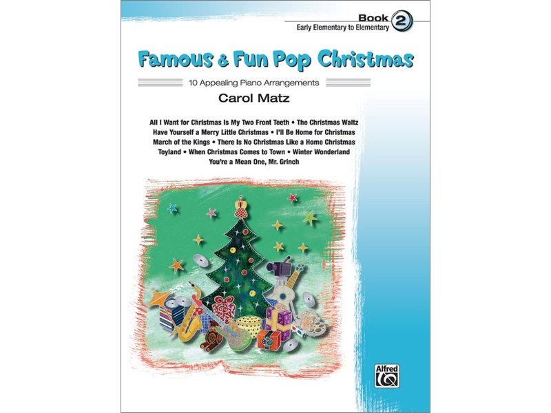 Famous & Fun Pop Christmas Book 2