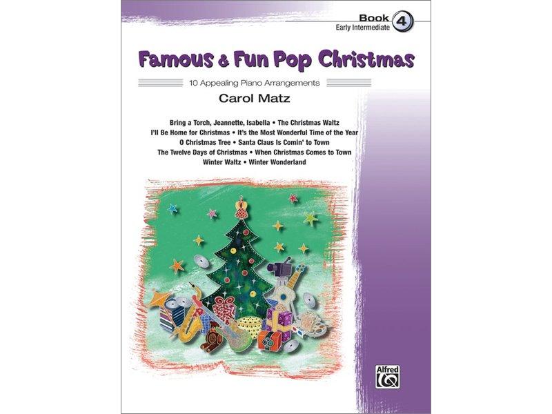 Famous & Fun Pop Christmas Book 4