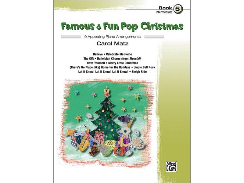 Famous & Fun Pop Christmas Book 5