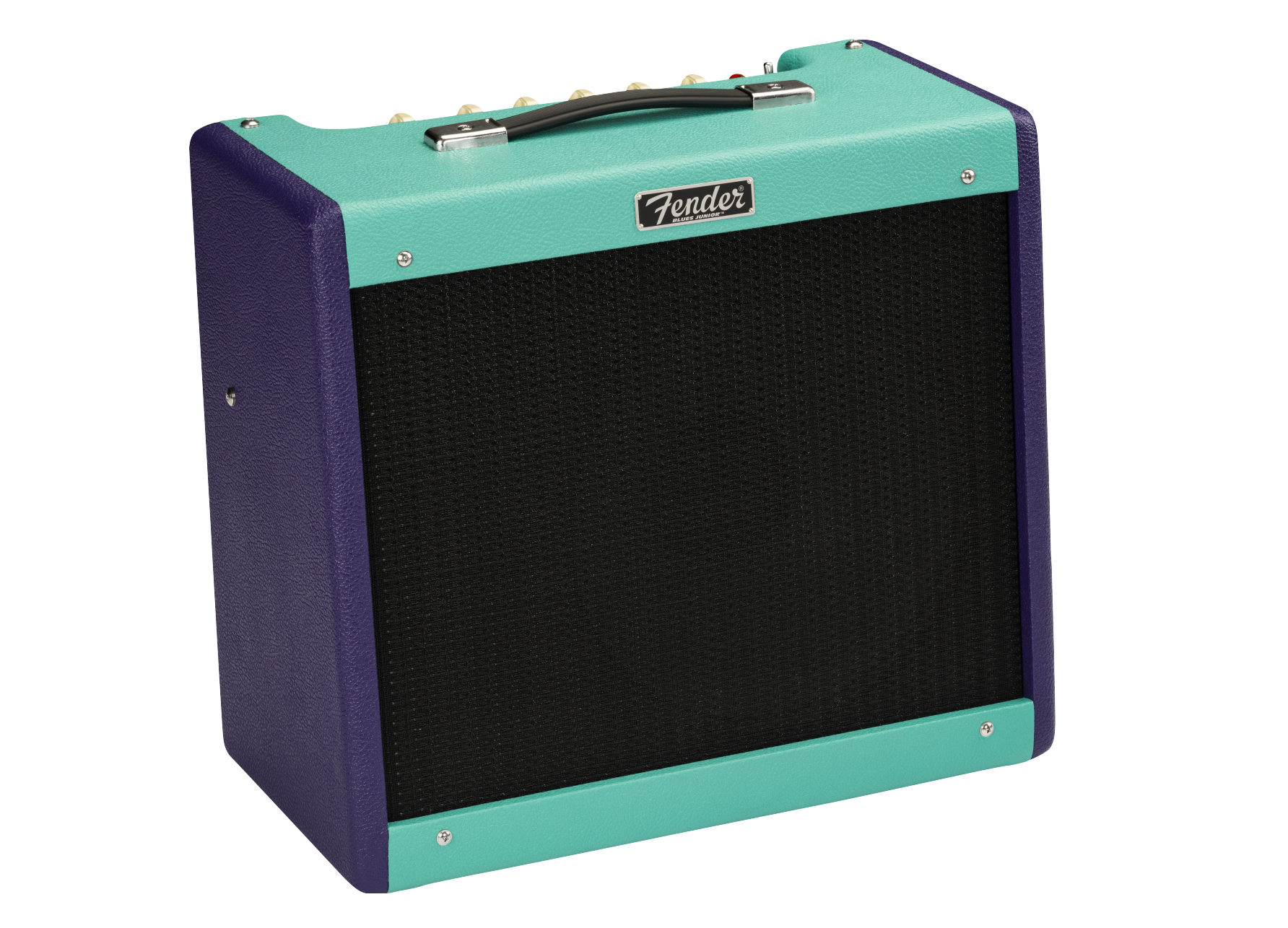 Fender Limited Edition Blues Junior IV, Eminence Cannabis Rex, Purple/Seafoam