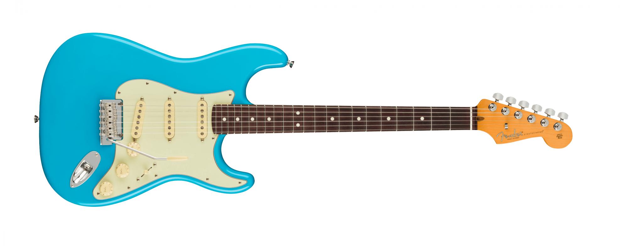 Fender American Pro II Stratocaster, RW, Miami Blue