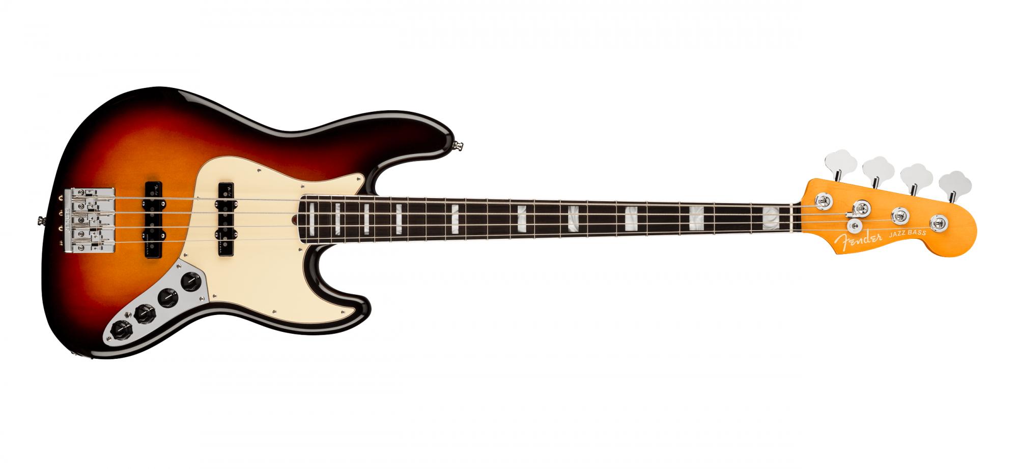 Fender American Ultra Jazz Bass RW, Ultraburst