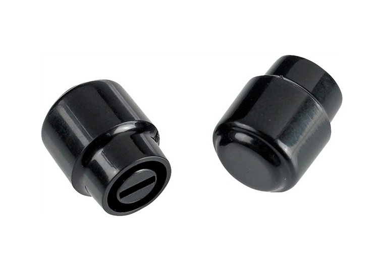 Fender Telecaster Barrel Switch Tips 2-Pack Black