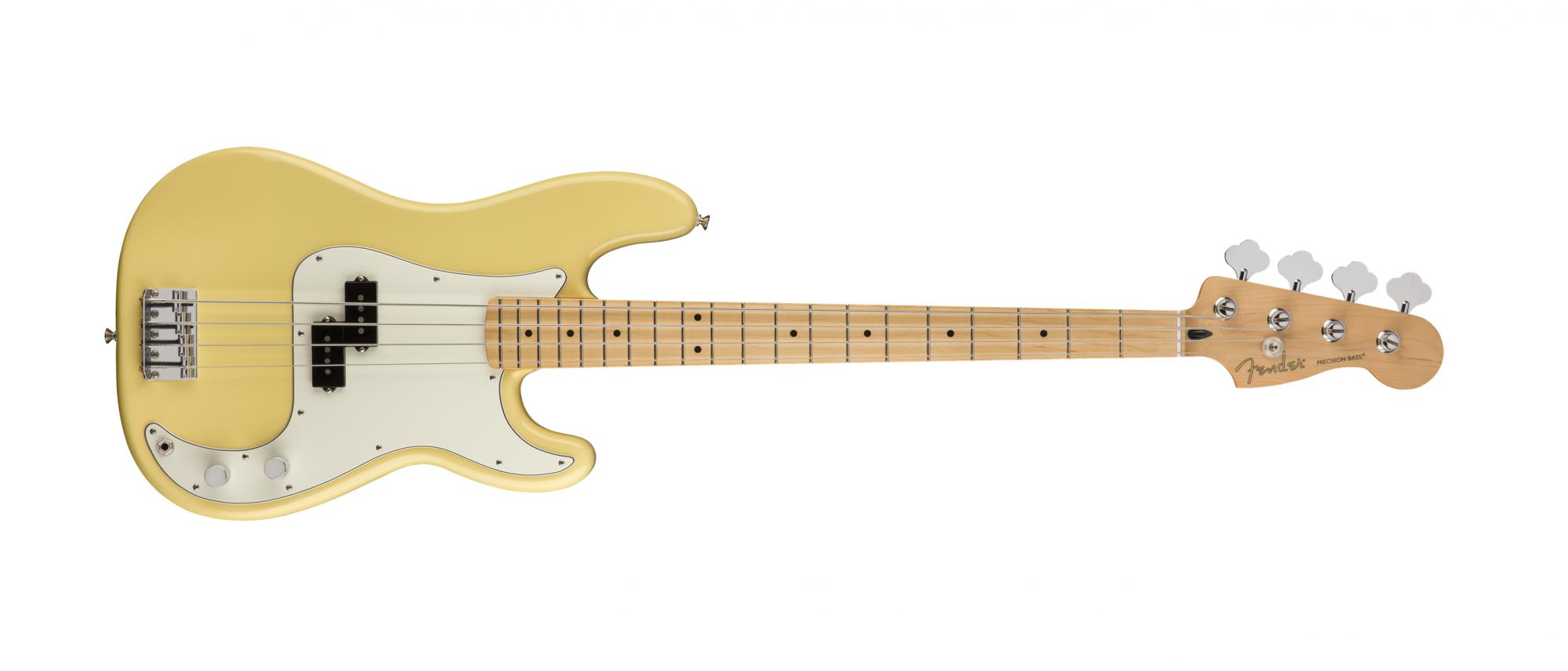 Fender Player Series P-Bass Maple Fingerboard, Buttercream