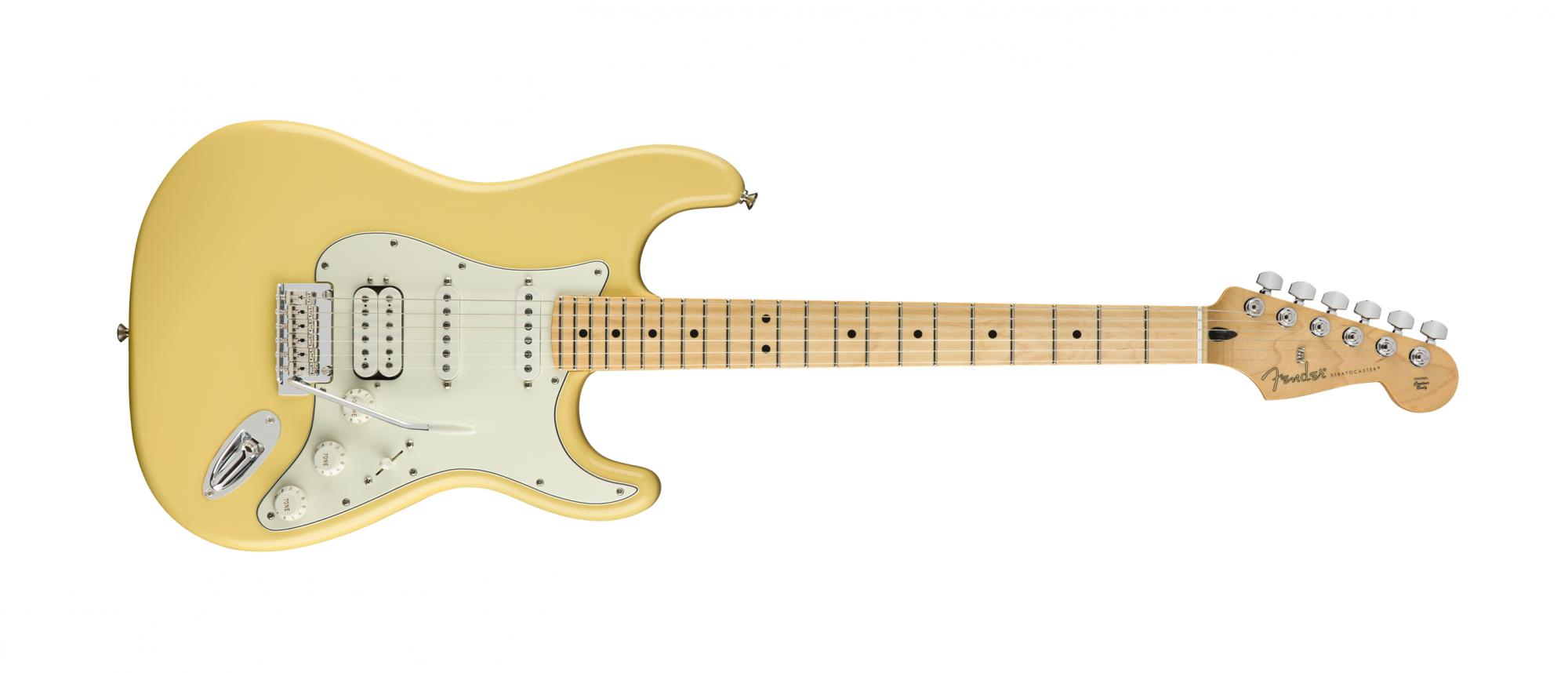 Fender Player Stratocaster HSS, MN, Buttercream
