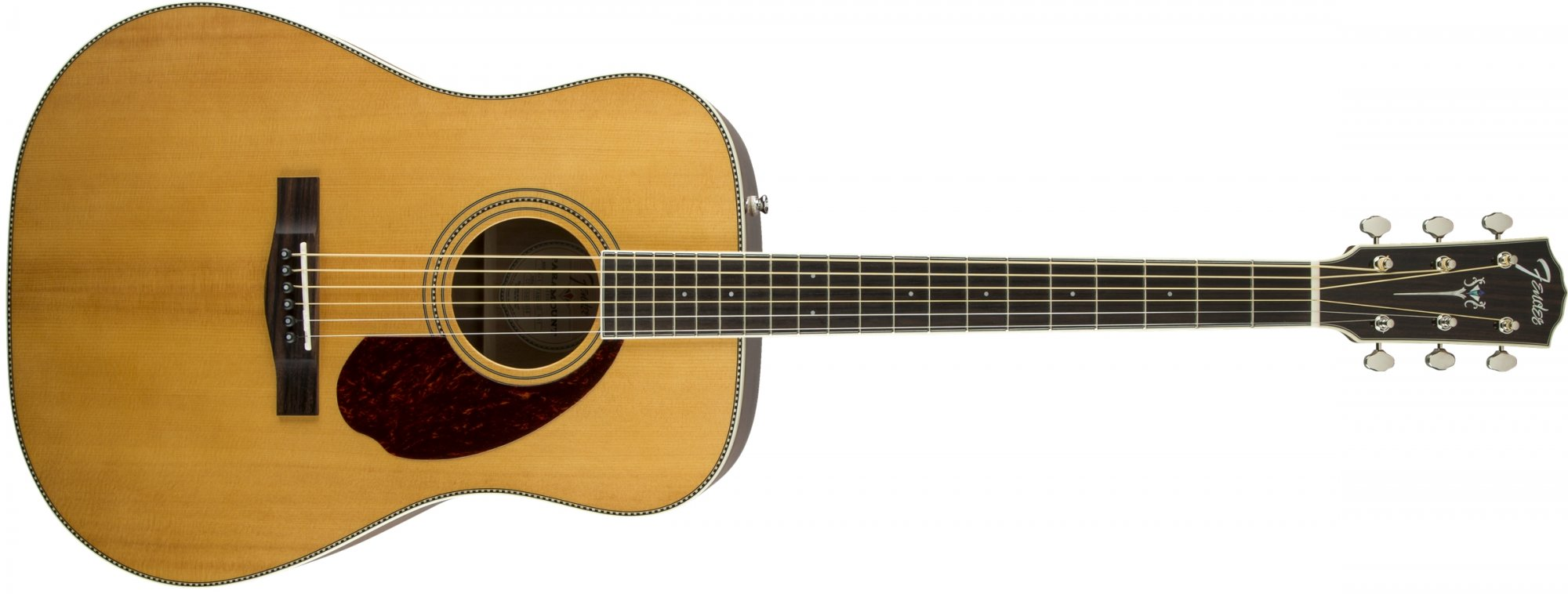 Fender PM-1 Paramount Standard Acoustic Electric Guitar Natural