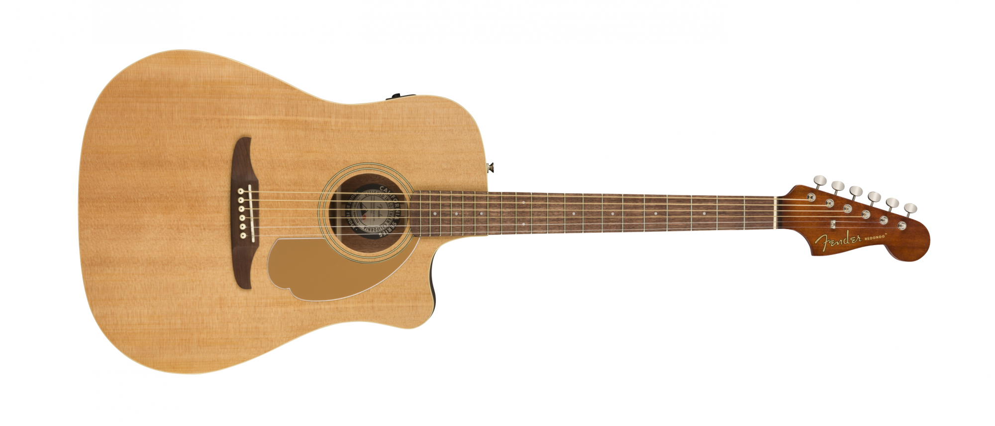 Fender Redondo Player Acoustic Electric Guitar WN Natural