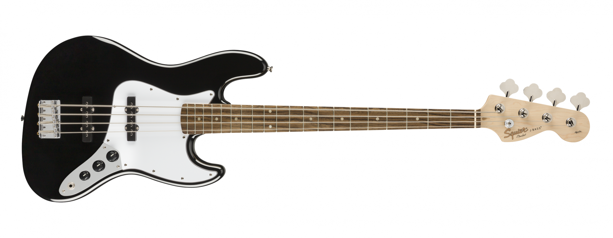 Fender Squier Affinity Jazz Bass, Laurel, Black